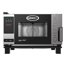 Combi-steamer Unox ChefTop MIND.Maps ONE, 3x GN 1/1, 400V - links