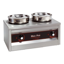 Max Pro 2-pans foodwarmer bain-marie