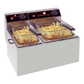 CaterChef friteuse 5 + 8 liter