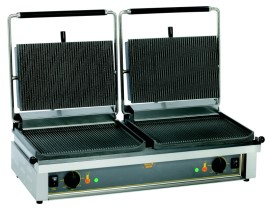 Roller-Grill contact-/klapgrill 'Double-Panini'