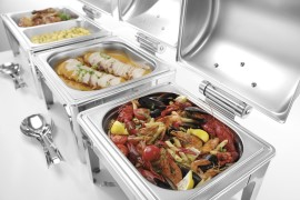 Chafing dish GN 23 mirror finish