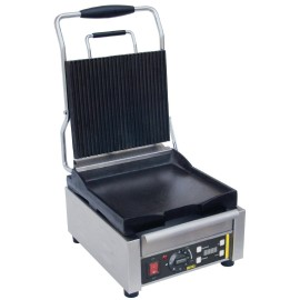Buffalo Pro Contact Grill Enkel (Boven Groef, onder Glad) (M