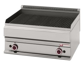 Diamond stoomgrill op gas, breed, top, Alpha 650