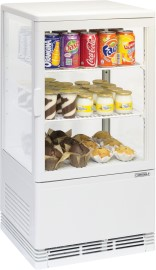 Mini koelvitrine 58L Wit