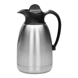 Thermoskan - rvs - 1.5 liter - zwart - 595005