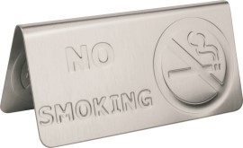 Tafelkaart rvs no smoking_3582623