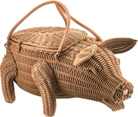 Decormand varken Piggy beige_3527606