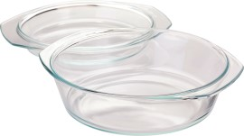 Ovenschaal glas md - 1,4 l.  600 ml._3538441-2