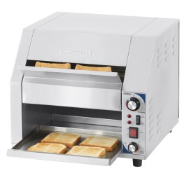 Toaster transportband breed