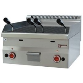 Diamond lavasteengrill, breed, top, Pro 600